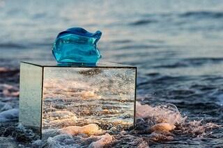 Trasparente e liquida come l'acqua, ecco la borsa Onda