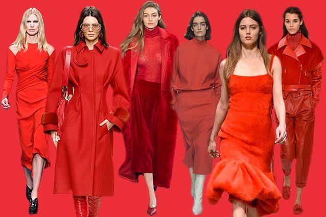 da sinistra Versace, Fendi, Max Mara, Jil Sander, Prada, Tod's