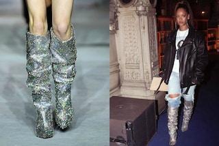 Follie da star: Rihanna e gli stivali di cristallo da 10mila dollari