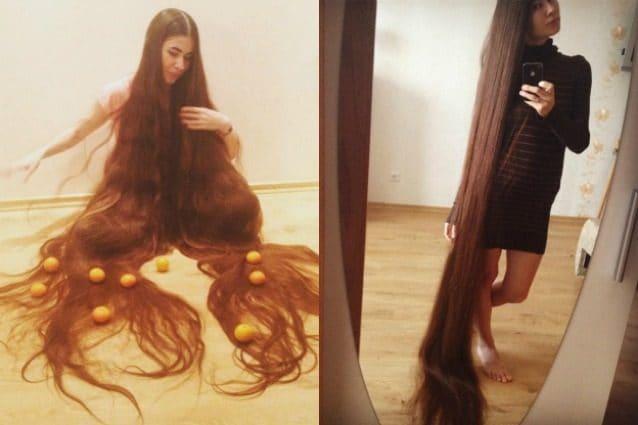 Aliia, la donna che non taglia i capelli da 20 anni: sono ...