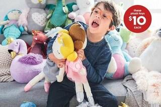 """Julius, il bimbo con la sindrome di Down testimonial di giocattoli: """"E' uguale ai coetanei"""""""