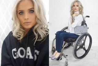 La forza di Jordan Bone, la beauty blogger sulla sedia a rotelle