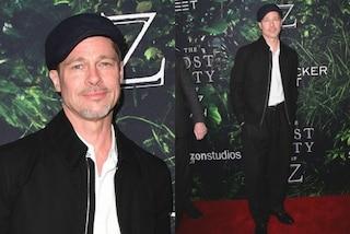 """Brad Pitt, look da """"scugnizzo"""": l'attore troppo magro dopo il divorzio con la Jolie"""