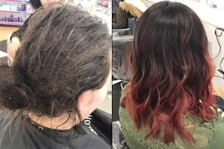 """""""Ecco com'è la depressione"""": la parrucchiera mostra gli effetti della malattia sui capelli"""