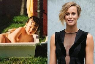 In vasca anche da piccola: ecco com'era Federica Pellegrini da bambina