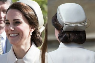Raccolto e cappellino: Kate Middleton dice addio ai lunghi capelli sciolti