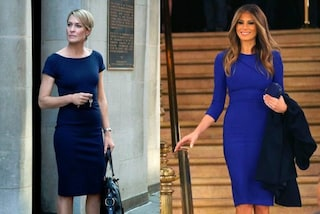 "Melania Trump si ispira ad ""House of Cards"": i look sono uguali a quelli dell'omologa"