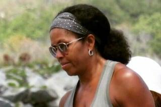 Michelle Obama con i capelli al naturale: lo scatto diventa virale