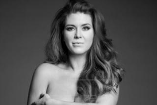 """Alicia Machado posa senza veli per Peta: """"Preferisco stare nuda che indossare a pelliccia"""""""