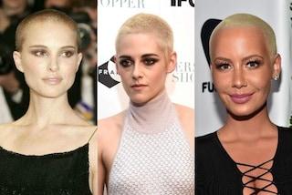 Capelli a zero: la moda estrema più seguita dalle star