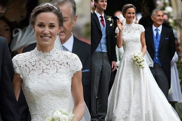 Vestiti Da Sposa Kate Middleton.L Abito Da Sposa Di Pippa Middleton Tutto Quello Che Forse