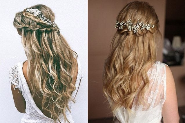 Waterfall Braid Lacconciatura Per La Sposa 2017 Prova La