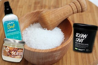 Bellezza a base di sale: cosmetici e ricette fai da te