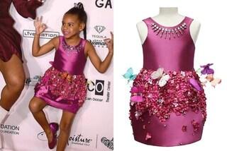 Blue Ivy sul tappeto rosso: a 5 anni la figlia di Beyoncé è già una diva