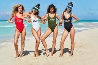Il tuo nome sul costume, arrivano i modelli per l'estate da personalizzare