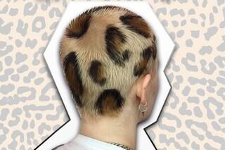 Capelli leopardati, l'ultimo (pazzo) trend che spopola sui social