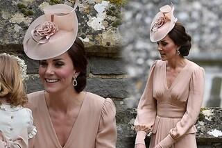 Kate Middleton sceglie il nudo: l'abito della principessa per il matrimonio di Pippa