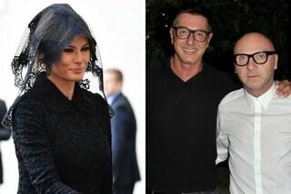 Melania Trump veste Dolce&Gabbana per incontrare il Papa, gli haters contro gli stilisti