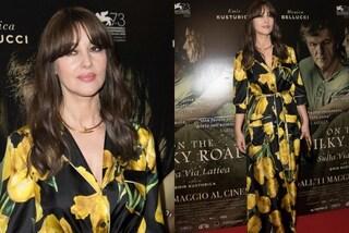 Monica Bellucci, bellissima…anche in vestaglia