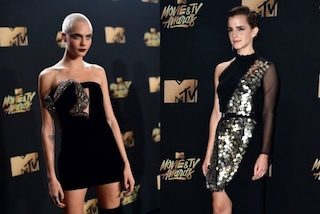 Cara Delevingne super sexy, Emma Watson raffinatissima: i look agli MTV Movie Awards