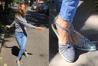 Non solo tacchi per Carrie: Sarah Jessica Parker lancia il primo modello di scarpa bassa