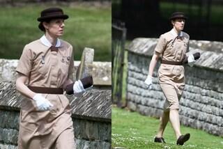 Anche per le nozze di Pippa la tata di George e Charlotte indossa la divisa