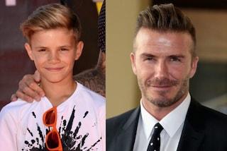 """Dal figlio di Beckham a quello di Mick Jagger: i """"cocchi di mamma"""" uguali ai papà"""