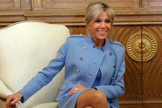 Brigitte Macron, la première dame 64enne è icona di stile
