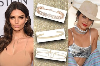 Choker gioiello, come indossare l'accessorio must have dell'estate 2017