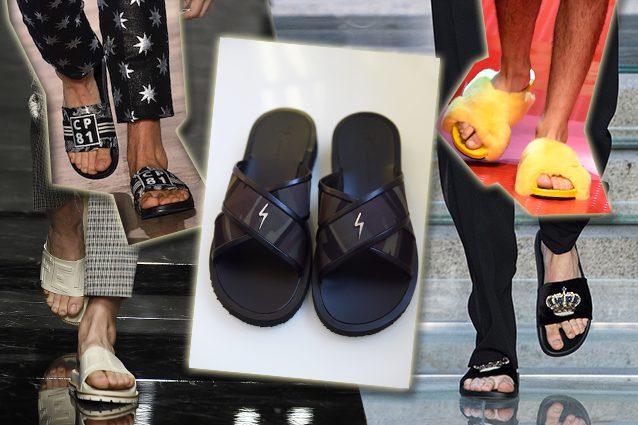 da sinistra Christian Pellizzari, Fendi, Giuseppe Zanotti Design, Dolce e Gabbana, Versace