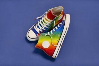 Converse Pride Collection, arrivano le All Star arcobaleno per sostenere la comunità LGBT