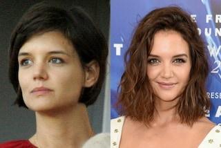 Katie Holmes prima e dopo il divorzio da Tom Cruise: oggi l'attrice è raggiante
