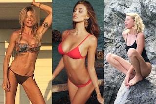 Da Belén alla Corvaglia, tutte in bikini per l'inizio dell'estate