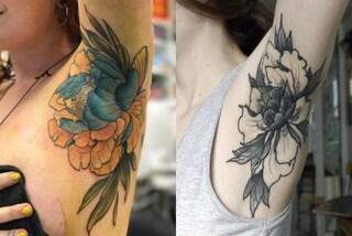Tatuaggi sotto le ascelle: il trend che spopola sui social