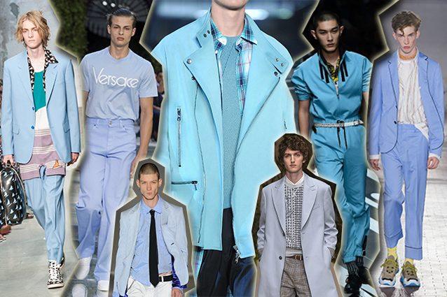 da sinistra Marni, Versace, Sulvam, Diesel Black Gold, Salvatore Ferragamo, Prada, N.21