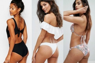 Asos dice addio a Photoshop: le modelle posano con cellulite e smagliature in mostra