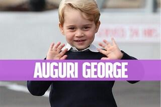 Buon compleanno George: 4 anni di facce buffe e sguardi dolci