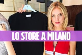 Chiara Ferragni inaugura il suo store a Milano: le prime immagini del negozio