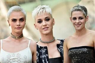 Cara, Katy e Kristen: non con lo stesso vestito ma con gli stessi capelli
