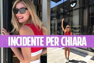 Chiara Ferragni apre uno store a Milano e sbatte contro la porta del negozio