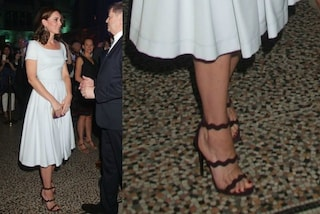 "Kate Middleton: vestito da ""fatina"" ma i tacchi sono a spillo"