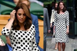 Kate Middleton, pois a Wimbledon: la principessa sceglie la moda italiana