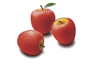 Vitamin di Issey Miyake, il tessuto plissè si trasforma in frutta e verdura