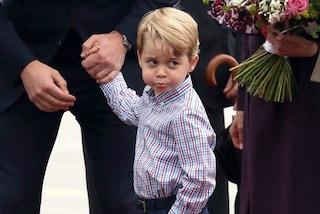 Il piccolo George segue l'esempio di mamma Kate: il principino veste low-cost