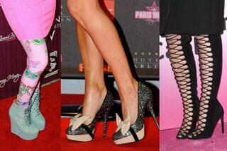 Kitsch shoes: le scarpe (più brutte) delle star