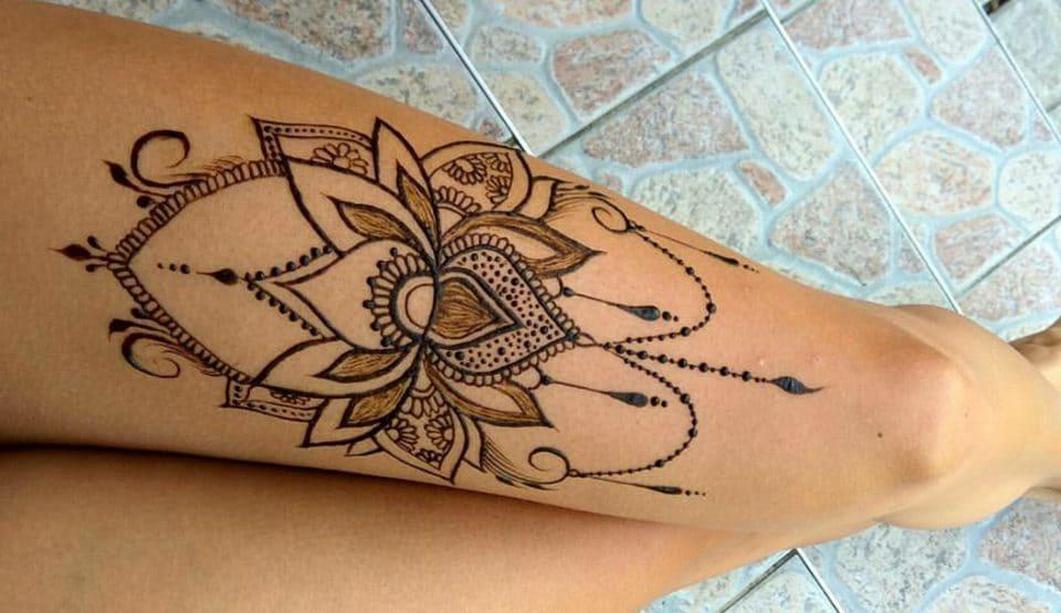 dolore addominale al tattooing