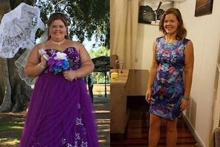 Perde 52 chili in un anno: voglio essere una mamma migliore