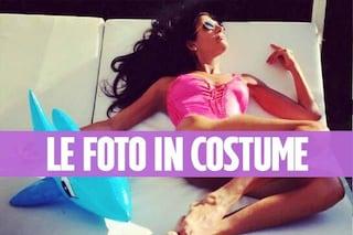 Pamela Prati in costume da bagno: a 58 anni è più in forma che mai