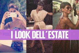 Alessandra Amoroso trendy in bikini: la cantante non rinuncia alla passione per la moda
