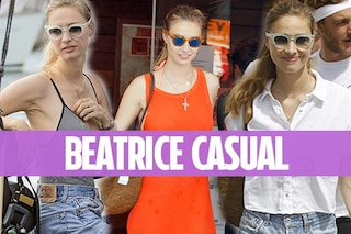 Beatrice Borromeo, in estate senza trucco e shorts di jeans